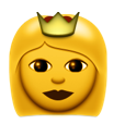 Princess emoji copy and paste