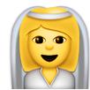 Bride emoji