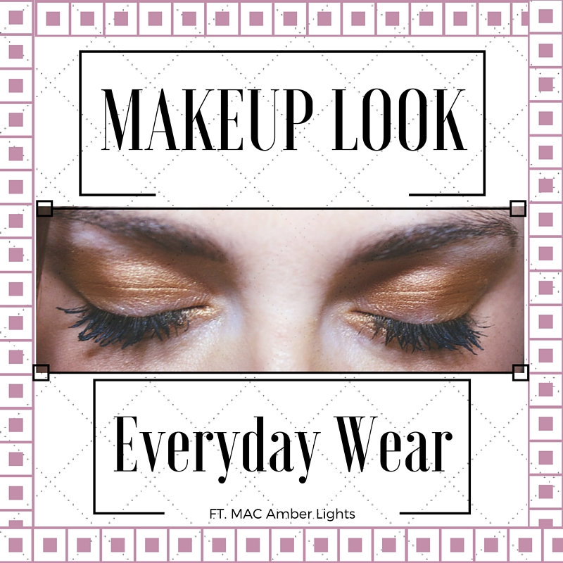 EVERYDAY MAKE UP LOOK FT GIVEAWAY