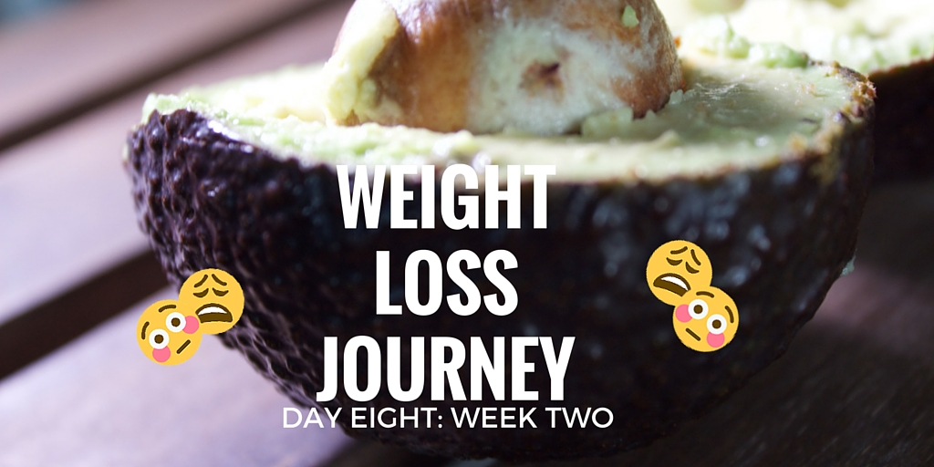 WEIGHT LOSS JOURNEY DAY 8