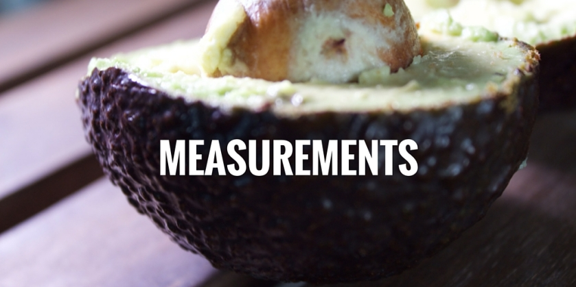 Weight Loss Journey Measurements