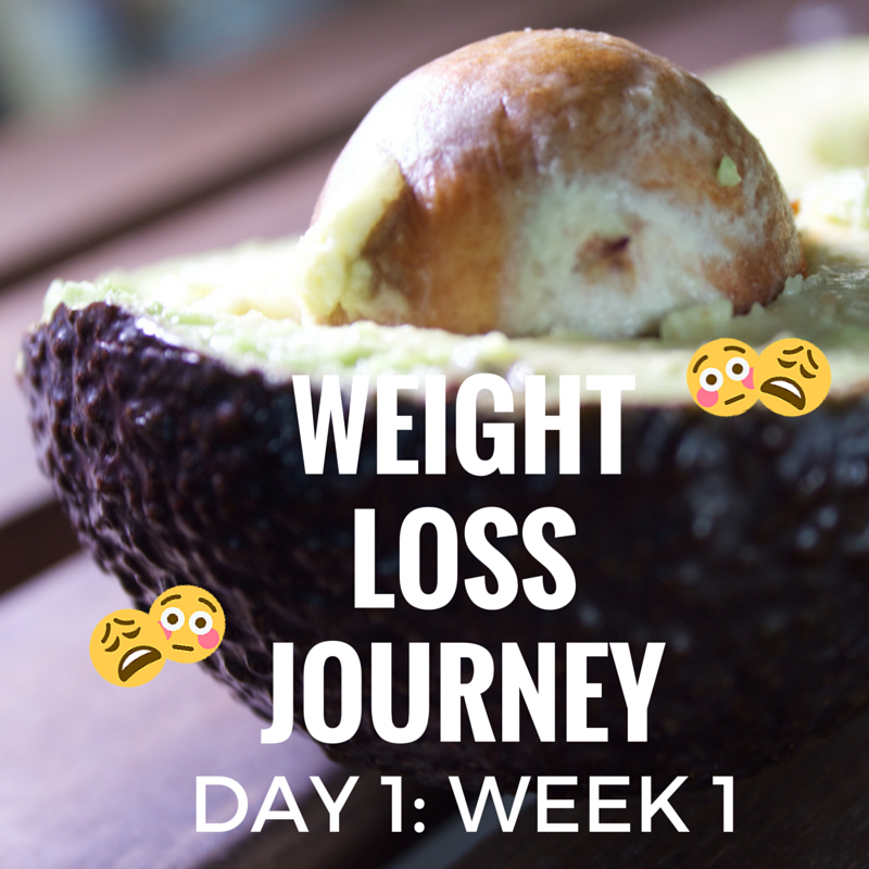 WEIGHT LOSS JOURNEY DAY ONE