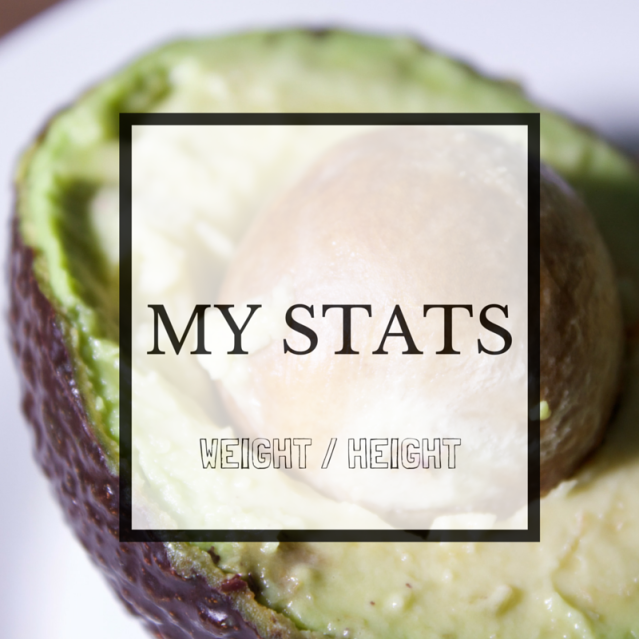 My stats weight loss journey blog weight and height