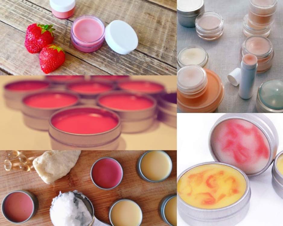 Make your own lip balm DIY